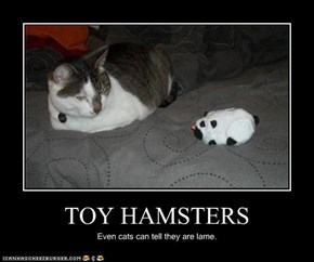 TOY HAMSTERS