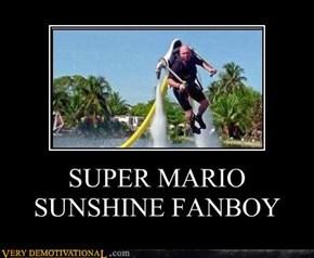 SUPER MARIO SUNSHINE FANBOY