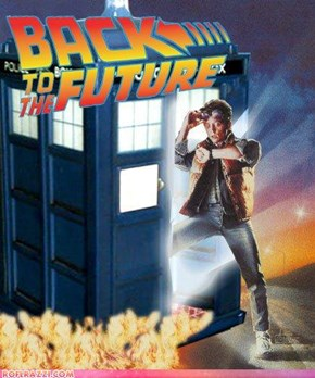 Doctor Who/ Back to the Future WIN!
