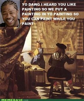 Yo Dawg: Pimp My Painting