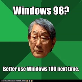 Windows 98?