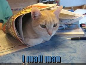 I mail man