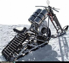 Another Epic Snowmobile
