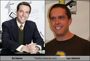 Ed Helms  Totally Looks Like Lee Unkrich