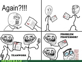 Problem, my dear teacher?.