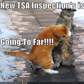 New TSA Inspection's is  Going To Far!!!!