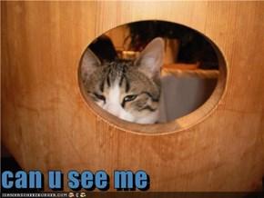 can u see me