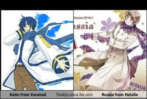 Kaito from Vocaloid Totally Looks Like Russia from Hetalia
