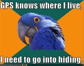Paranoid Parrot: Get Off The Grid!