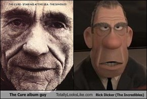 The Cure album guy Totally Looks Like Rick Dicker (The Incredibles)