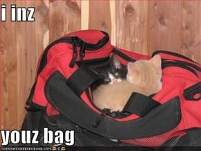 i inz  youz bag
