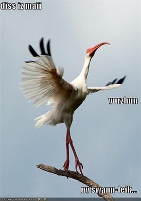 diss iz maii  vurzhun uv swann-leik...