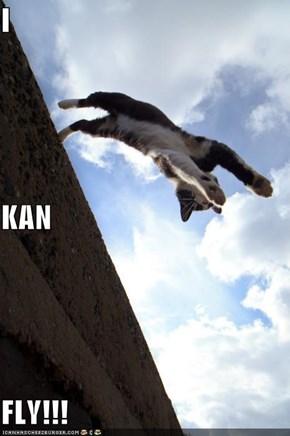 I KAN FLY!!!