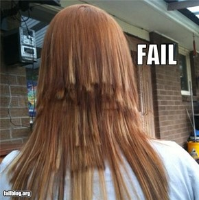 Alternative Lifestyle Haircut FAIL
