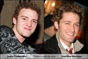 Justin Timberlake Totally Looks Like Matthew Morrison