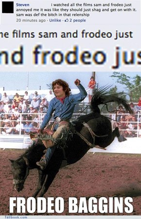 One does not simply rodeo into Mordor