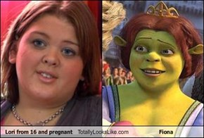 Lori from 16 and pregnant Totally Looks Like Fiona