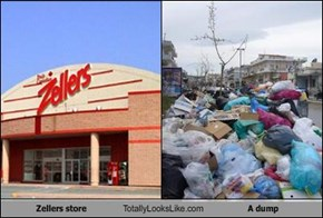 Zellers store Totally Looks Like A dump