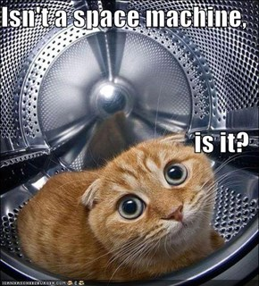 Isn't a space machine, is it?
