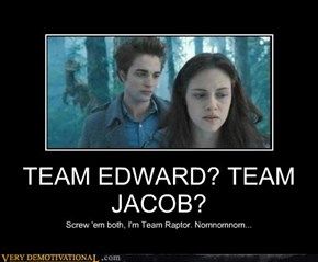 TEAM EDWARD? TEAM JACOB?