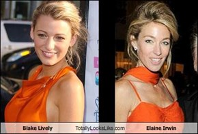 Blake Lively Totally Looks Like Elaine Irwin