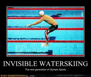 INVISIBLE WATERSKIING