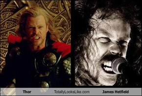 Thor Totally Looks Like James Hetfield