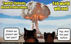 Twenty-Elebenty Kitteh Predicshunz