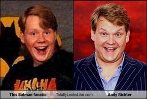 This Batman fanatic Totally Looks Like Andy Richter