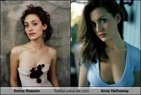 Emmy Rossem Totally Looks Like Anne Hathaway