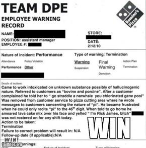 TL;DR: Termination Win