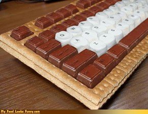 Funny Food Photos - Keybaord S'more