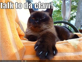 talk to da claw!