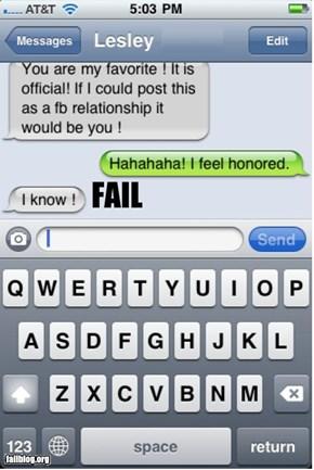 Humility Fail