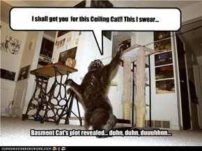 I shall get you  for this Ceiling Cat!! This I swear...