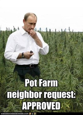 Pot Farm neighbor request: APPROVED
