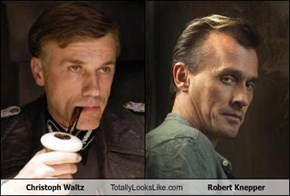 Christoph Waltz Totally Looks Like Robert Knepper