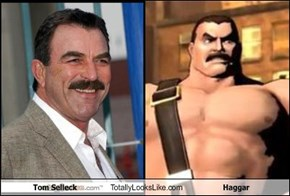 Tom Selleck Totally Looks Like Haggar
