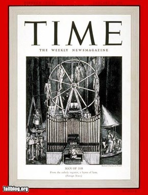 Time Magazine Man of the Year...Hitler 1935