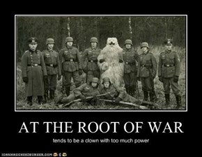 AT THE ROOT OF WAR