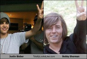 Justin Bieber Totally Looks Like Bobby Sherman