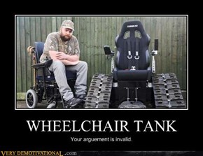 WHEELCHAIR TANK