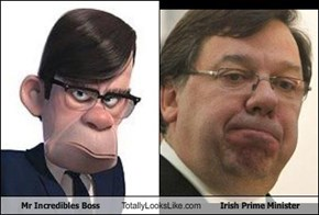 Mr Incredibles Boss Totally Looks Like Irish Prime Minister