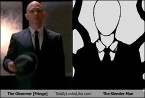 The Observer [Fringe] Totally Looks Like The Slender Man