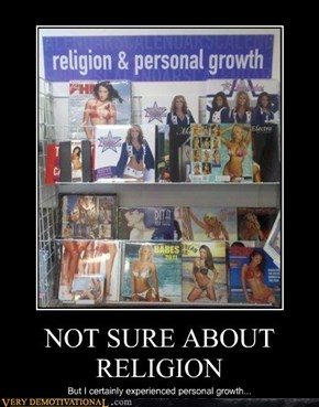 NOT SURE ABOUT RELIGION