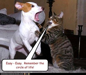 Easy - Easy.  Remember the circle of life!