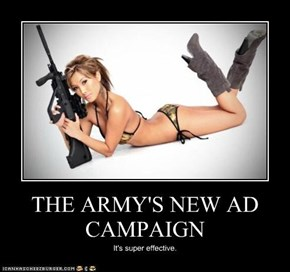 THE ARMY'S NEW AD CAMPAIGN