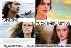 the cover for Ondine Totally Looks Like The cover for Tuck Everlasting