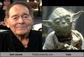 Jack LaLane Totally Looks Like Yoda