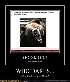 WHO DARES...